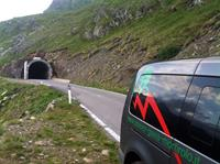 mortirolo stelvio gavia bus luggage service gallery